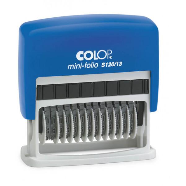 COLOP Mini-Folio S120/13 Ziffernstempel