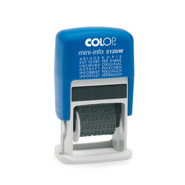 COLOP Mini-Info S120/W