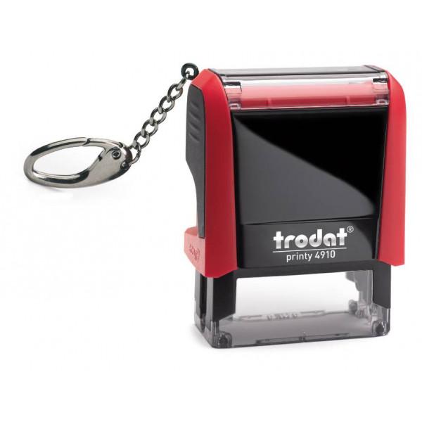 TRODAT Printy 4910 4.0 mit Schlüsselanhänger